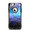 The Glowing Space Texture Apple iPhone 6 Otterbox Commuter Case Skin Set