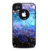 The Glowing Space Texture Skin for the iPhone 4-4s OtterBox Commuter Case