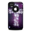 The Glowing Starry Cross Skin for the iPhone 4-4s OtterBox Commuter Case