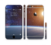 The Glowing Universe Sunrise Sectioned Skin Series for the Apple iPhone 6 Plus
