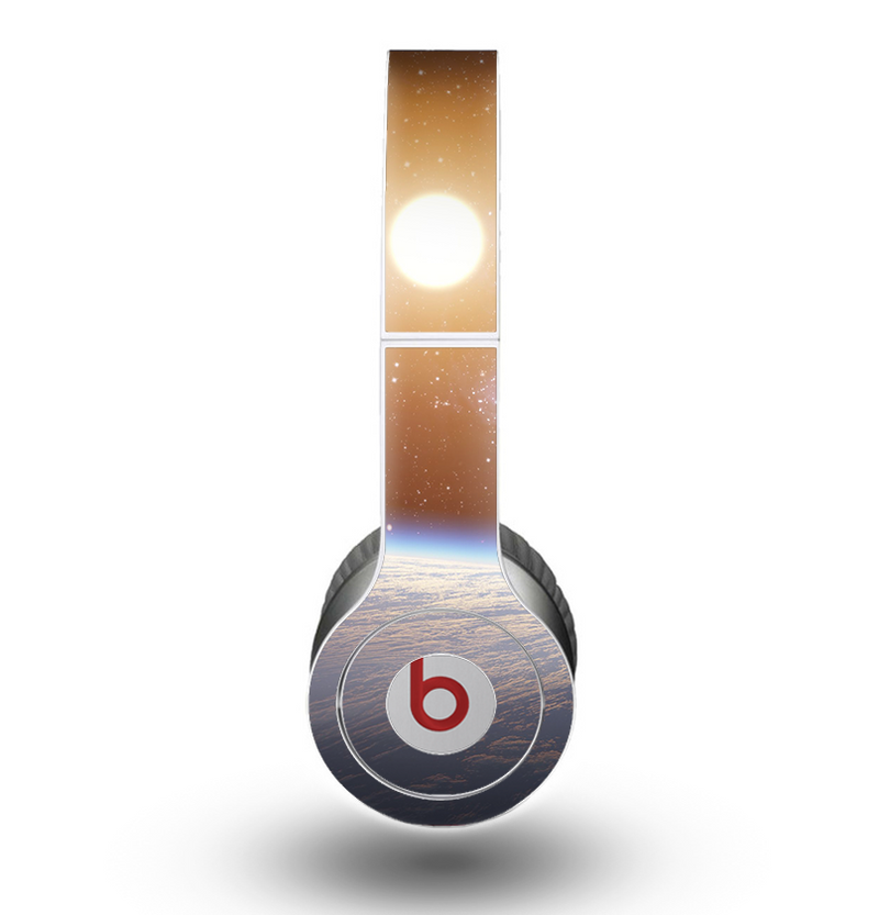 The Glowing Universe Sunrise Skin for the Beats by Dre Original Solo-Solo HD Headphones