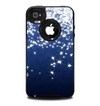 The Glowing White SnowFlakes Skin for the iPhone 4-4s OtterBox Commuter Case