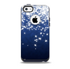 The Glowing White SnowFlakes Skin for the iPhone 5c OtterBox Commuter Case