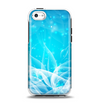 The Glowing White Snowfall Apple iPhone 5c Otterbox Symmetry Case Skin Set