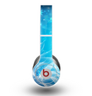 The Glowing White Snowfall Skin for the Beats by Dre Original Solo-Solo HD Headphones
