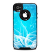 The Glowing White Snowfall Skin for the iPhone 4-4s OtterBox Commuter Case