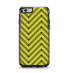 The Gold & Black Sketch Chevron Apple iPhone 6 Otterbox Symmetry Case Skin Set