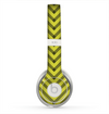 The Gold & Black Sketch Chevron Skin for the Beats by Dre Solo 2 Headphones