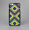 The Gold & Black Vector Plaid Skin-Sert Case for the Apple iPhone 6 Plus