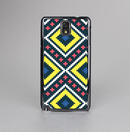 The Gold & Black Vector Plaid Skin-Sert Case for the Samsung Galaxy Note 3