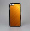 The Gold Brushed Aluminum Surface Skin-Sert Case for the Apple iPhone 6 Plus