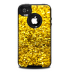 The Gold Glimmer Skin for the iPhone 4-4s OtterBox Commuter Case