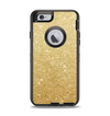 The Gold Glitter Ultra Metallic Apple iPhone 6 Otterbox Defender Case Skin Set
