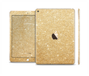 The Gold Glitter Ultra Metallic Skin Set for the Apple iPad Pro