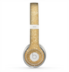 The Gold Glitter Ultra Metallic Skin for the Beats by Dre Solo 2 Headphones