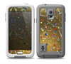 The Gold Hearts and Confetti Pattern Skin Samsung Galaxy S5 frē LifeProof Case