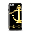 The Gold Linking Chain Anchor Apple iPhone 6 Plus Otterbox Symmetry Case Skin Set