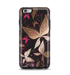 The Gold & Pink Abstract Vector Butterflies Apple iPhone 6 Plus Otterbox Symmetry Case Skin Set