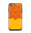 The Gold & Red Abstract Seamless Pattern Apple iPhone 6 Plus Otterbox Symmetry Case Skin Set