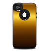 The Gold Shimmer Surface Skin for the iPhone 4-4s OtterBox Commuter Case