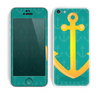 The Gold Stretched Anchor with Green Background copy Skin for the Apple iPhone 5c