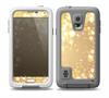 The Gold Unfocused Sparkles Skin for the Samsung Galaxy S5 frē LifeProof Case