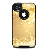 The Gold Unfocused Sparkles Skin for the iPhone 4-4s OtterBox Commuter Case