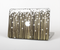 "The Gold & White Shimmer Strips Skin Set for the Apple MacBook Pro 15"" with Retina Display"