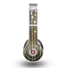 The Gold & White Shimmer Strips Skin for the Beats by Dre Original Solo-Solo HD Headphones