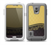 The Gold and Black Luxury Pattern Skin Samsung Galaxy S5 frē LifeProof Case