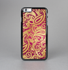The Gold and Red Paisley Pattern Skin-Sert Case for the Apple iPhone 6 Plus