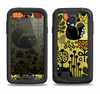 The Gold vector Fat Cat Illustration Samsung Galaxy S4 LifeProof Fre Case Skin Set