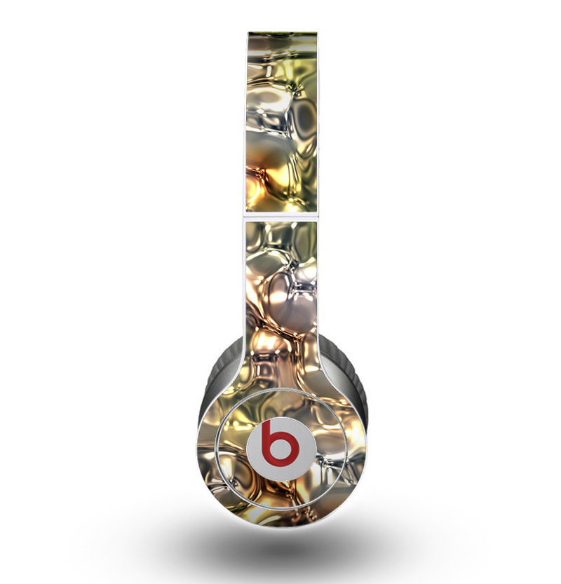 The Gold vector Fat Cat Illustration Skin for the Beats by Dre Original Solo-Solo HD Headphones