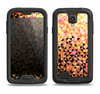 The Golden Abstract Tiled Samsung Galaxy S4 LifeProof Nuud Case Skin Set