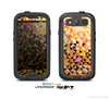 The Golden Abstract Tiled Skin For The Samsung Galaxy S3 LifeProof Case