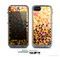 The Golden Abstract Tiled Skin for the Apple iPhone 5c LifeProof Case