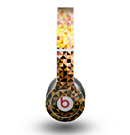 The Golden Abstract Tiled Skin for the Beats by Dre Original Solo-Solo HD Headphones