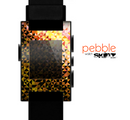 The Golden Abstract Tiled Skin for the Pebble SmartWatch
