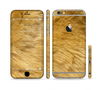 The Golden Furry Animal Sectioned Skin Series for the Apple iPhone 6 Plus