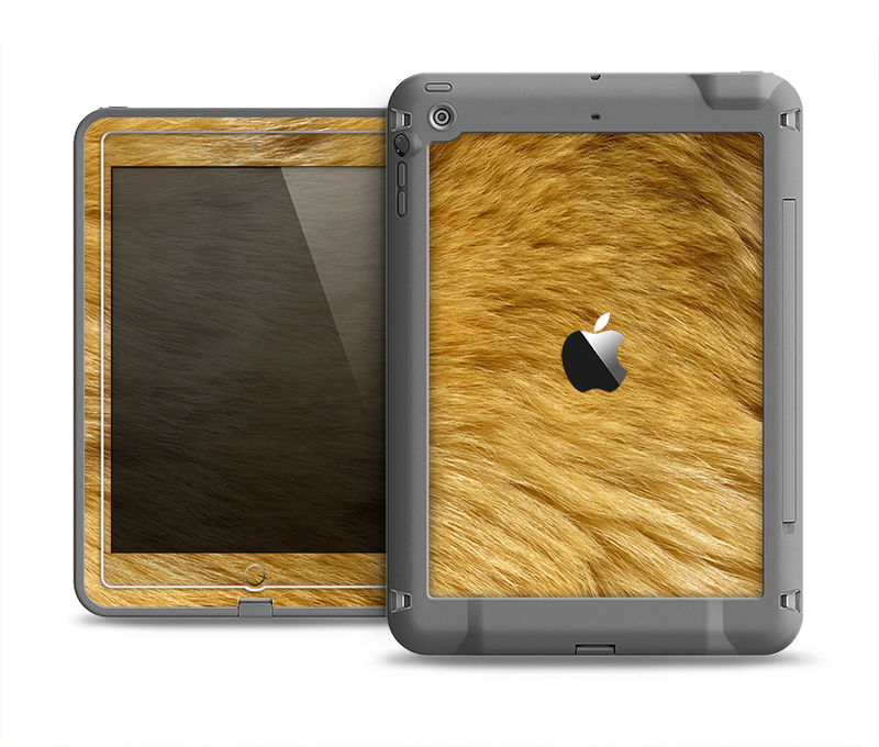 The Golden Furry Animal Apple iPad Air LifeProof Fre Case Skin Set