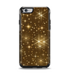 The Golden Glowing Stars Apple iPhone 6 Otterbox Symmetry Case Skin Set