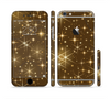 The Golden Glowing Stars Sectioned Skin Series for the Apple iPhone 6 Plus