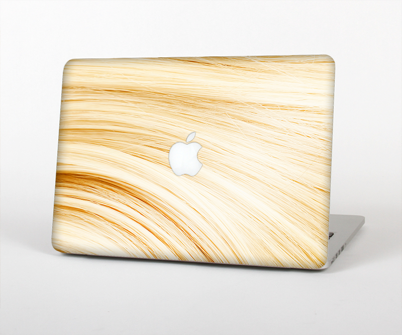 "The Golden Hair Strands Skin Set for the Apple MacBook Pro 15"" with Retina Display"