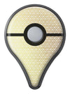 The Golden Honeycomb Pattern Pokémon GO Plus Vinyl Protective Decal Skin Kit