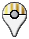 The Golden Vertical Stripes Pokémon GO Plus Vinyl Protective Decal Skin Kit