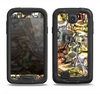 The Golden and Yellow Mercury Samsung Galaxy S4 LifeProof Fre Case Skin Set