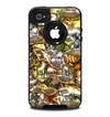 The Golden and Yellow Mercury Skin for the iPhone 4-4s OtterBox Commuter Case
