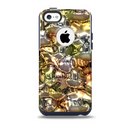 The Golden and Yellow Mercury Skin for the iPhone 5c OtterBox Commuter Case