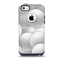The Golf Ball Overlay Skin for the iPhone 5c OtterBox Commuter Case