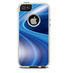 The Gradient Waves of Blue Skin For The iPhone 5-5s Otterbox Commuter Case